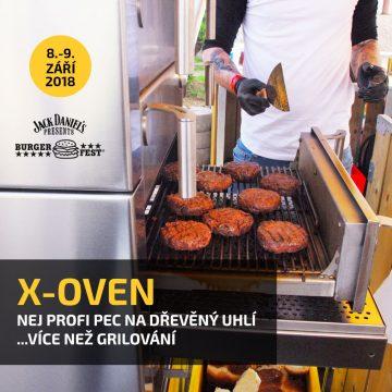 Hlavní grilovací partner: X-Oven
