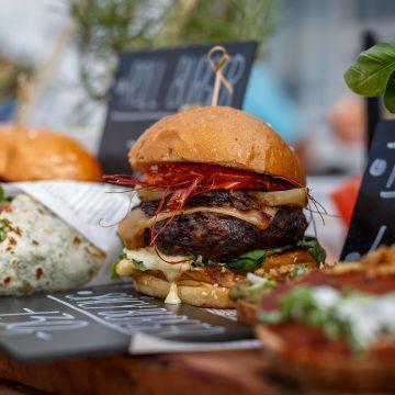 Burgerfest 2018 –  Křižíkova fontána plná burgerů – Tisková zpráva