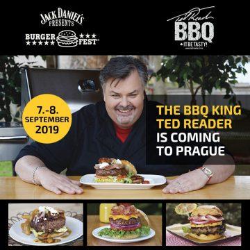Ted Reader na Burgerfestu!