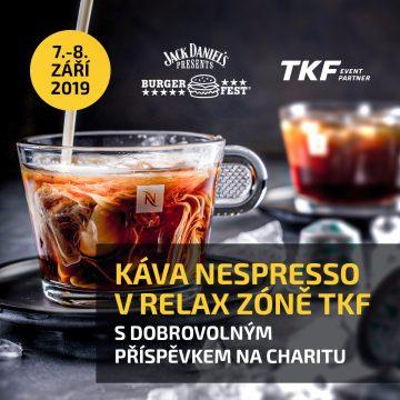 Dej si kafe u Lukáše v Relax zóně TKF