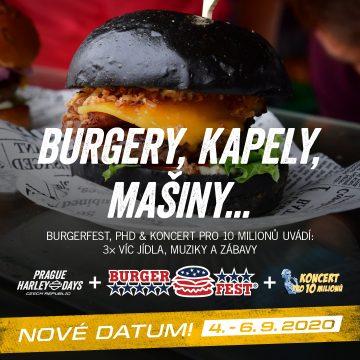 Burgerfest 2020 – 4.-6. září!