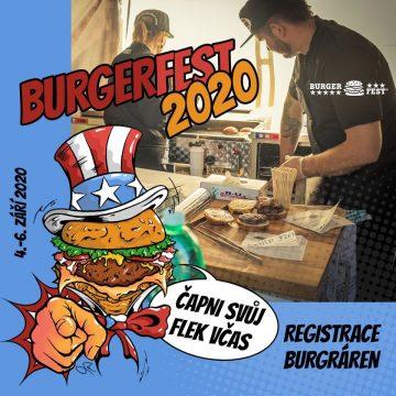 Přihlaš svůj podnik na Burgerfest!