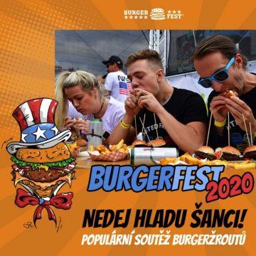 Těš se na oblíbenou soutěž Burgeržrout!