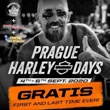 Už za 14 dní! – Burgerfest, Prague Harley Days a Koncert pro 10 milionů