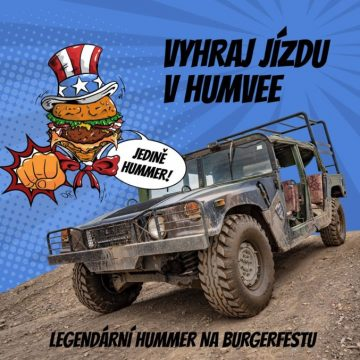 Vyhraj jízdu v Humvee!