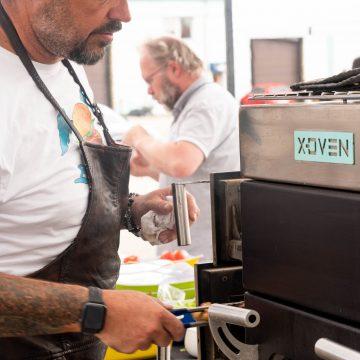 X-Oven Burger Machine na Burgerfestu